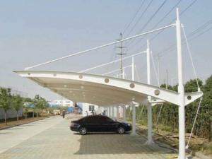 膜结构汽车车棚的主要性能