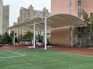 膜结构网球棚