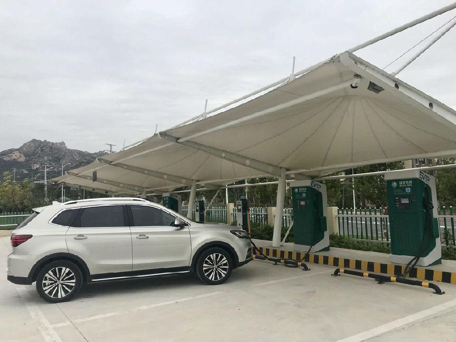 膜结构车棚与汽车停车棚有哪些共同点